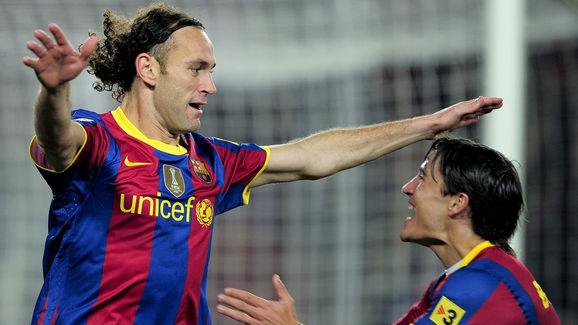 Barcelona's Argentinian defender Gabriel