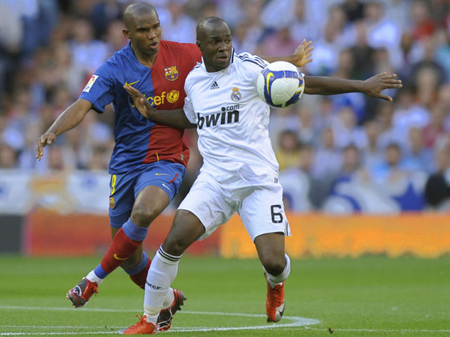 Barcelona's Cameroonian forward Samuel E