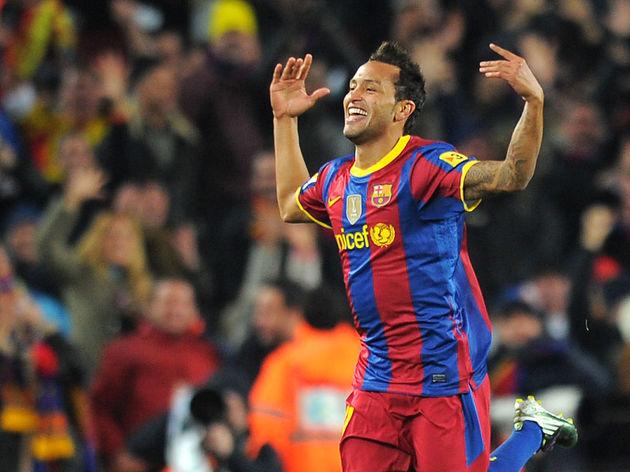 Barcelona's forward Jeffren Suarez celeb