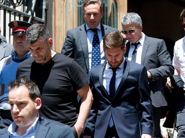 Lionel Messi,Jorge Horacio Messi,Rodrigo Messi