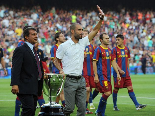 Joan Laparta,Josep Guardiola
