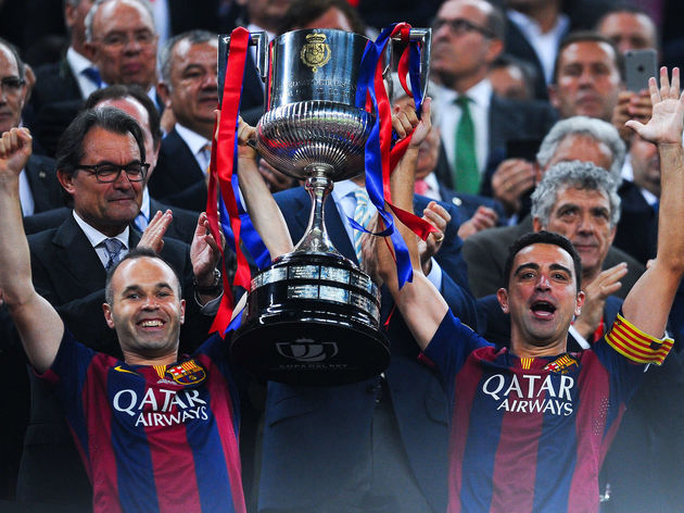 Barcelona v Athletic Club - Copa del Rey Final
