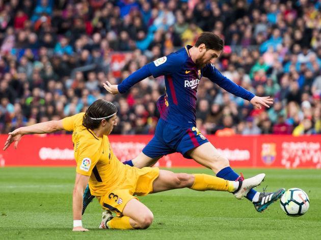 Filipe Luis,Lionel Messi