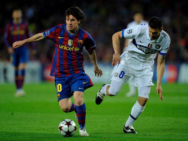 Lionel Messi,Thiago Motta