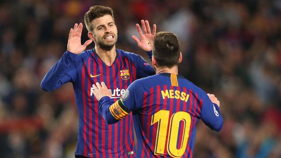 Gerard Pique,Lionel Messi