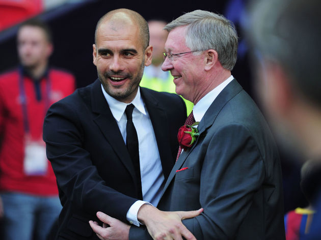Josep Guardiola,Sir Alex Ferguson