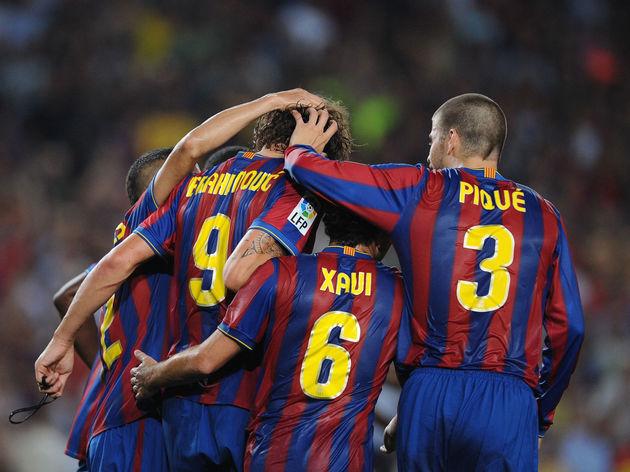 Zlatan Ibrahimovic,Gerard Pique,Xavi Hernandez