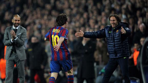 Lionel Messi,Gabriel Milito,Josep Guardiola
