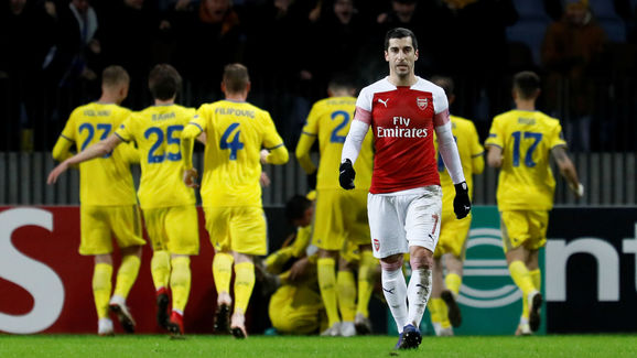 BATE Borisov v Arsenal - UEFA Europa League Round of 32: First Leg