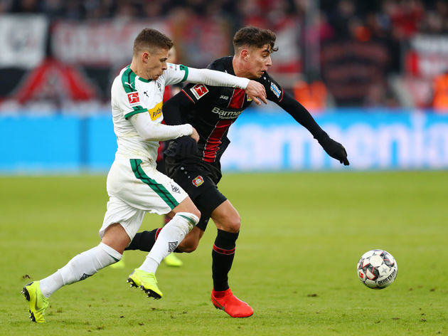 Thorgan Hazard,Kai Havertz
