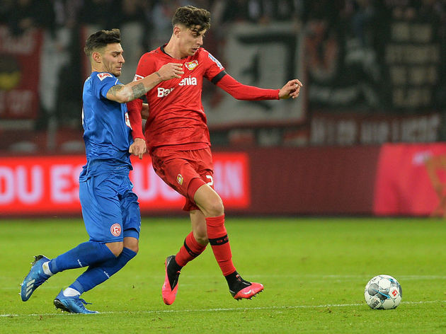 Kaan Ayhan ,,Kai Havertz ,