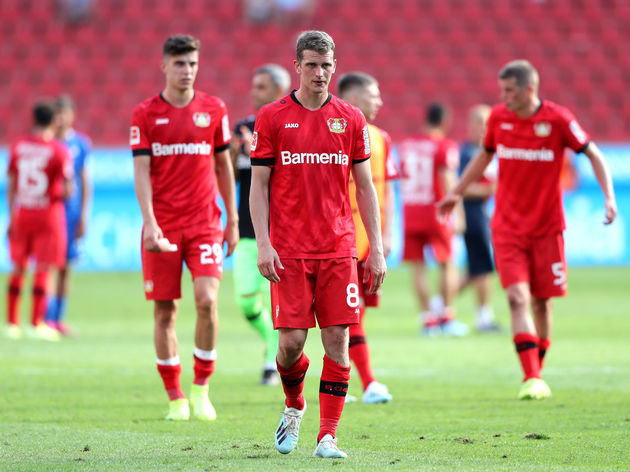 Kai Havertz,Lars Bender,Sven Bender