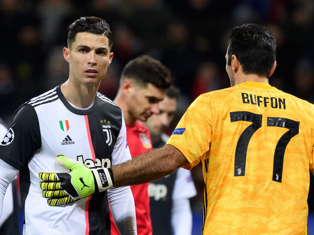 Christiano Ronaldo,Gianluigi Buffon