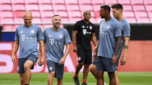 Arjen Robben,Franck Ribery,Niklas Sule,Corentin Tolisso