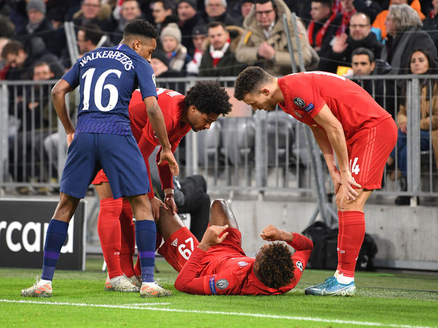 Kingsley Coman,Kyle Walker-Peters,: Ivan Perisic