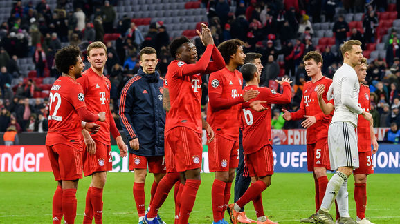 Tottenham,Bayern,Team