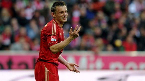 Bayern Munich's Croatian striker Ivica O