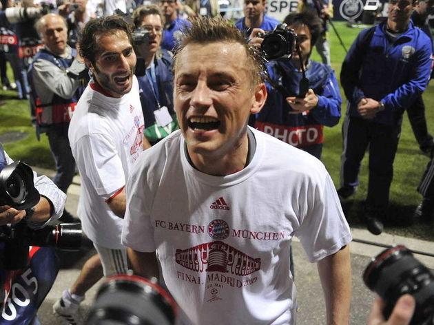 Bayern Munich's Croatian striker Ivica O