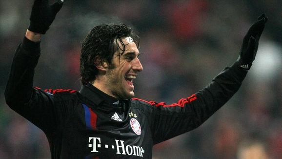 Bayern Munich's Italian striker Luca Ton