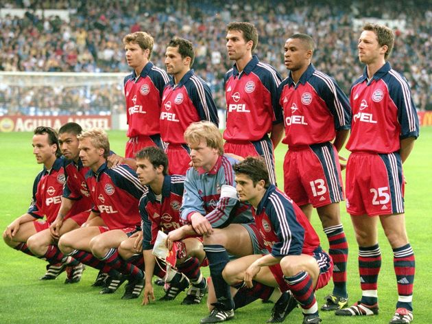 Bayern Munich team photograph