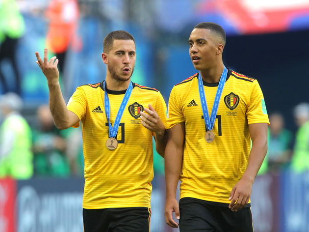 Eden Hazard,Youri Tielemans