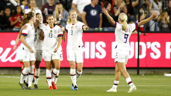 c9cc91d65 Alex Morgan Names France & England as Biggest Threat to USA at 2019 ...