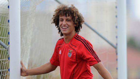 Benfica's Brazilian defender David Luiz