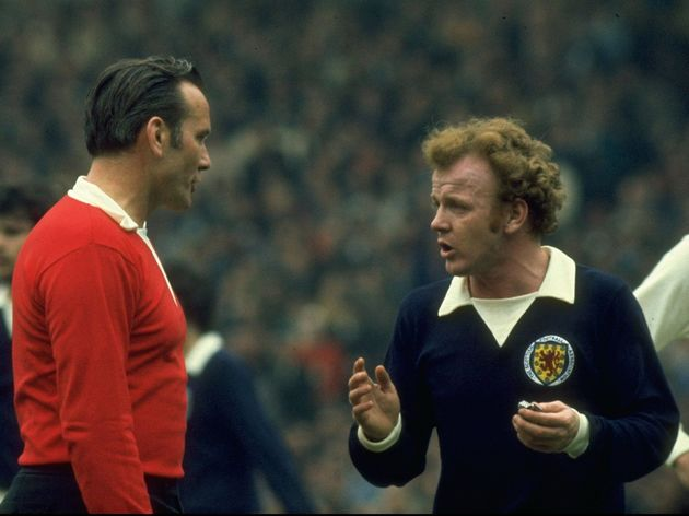 Billy Bremner of Scotland