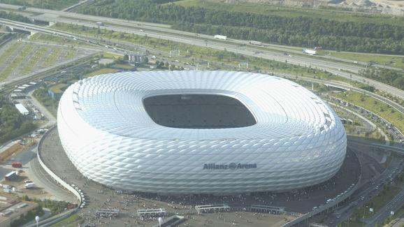 Birds Eye View Allianz Arena