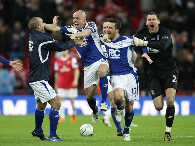 Birmingham City's Republic Of Ireland de