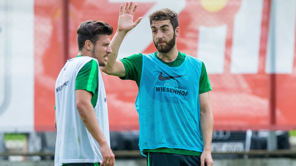 BL: Trainingslager SV Werder Bremen in Zell am Ziller