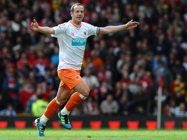 Blackpool's Scottish midfielder Charlie