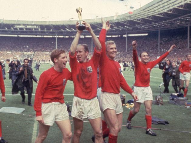 Bobby Moore,Bobby Charlton,,Alan Ball,Gordon Banks