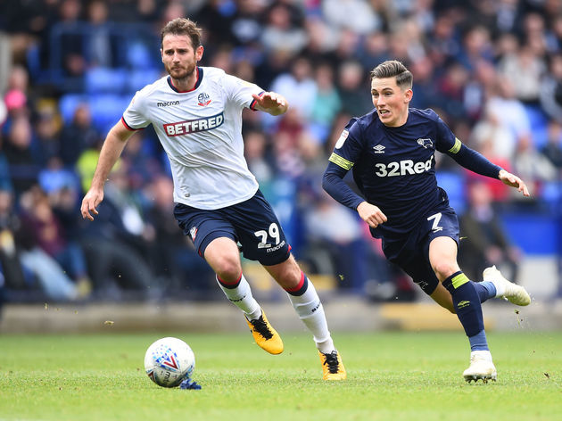 Bolton Wanderers v Derby County - Sky Bet Championship
