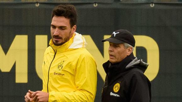 Mats Hummels,Lucien Favre