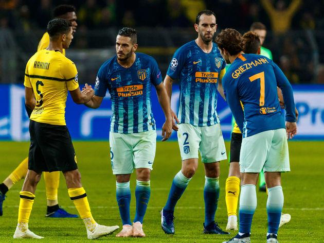 Borussia Dortmund v Club Atletico de Madrid - UEFA Champions League Group A