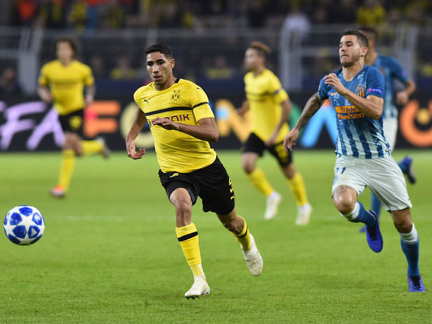 Borussia Dortmund v Club Atletico de Madrid - UEFA Champions League Group A