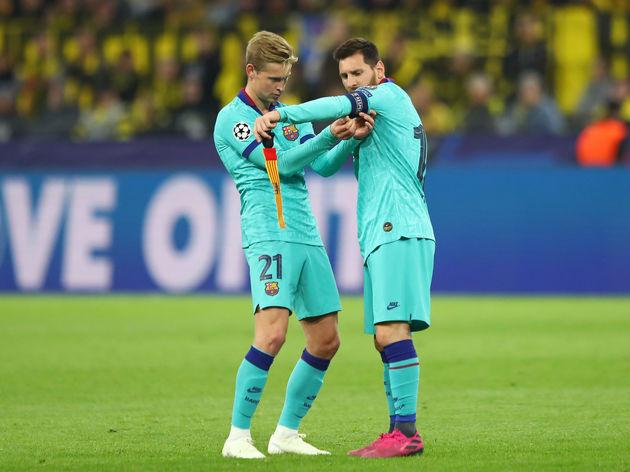 Frenkie de Jong,Lionel Messi