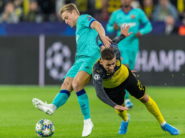 Frenkie de Jong,Thorgan Hazard