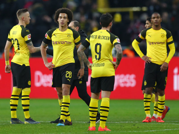 Paco Alcacer,Axel Witsel,Marius Wolf