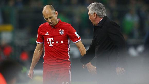 Arjen Robben,Carlo Ancelotti