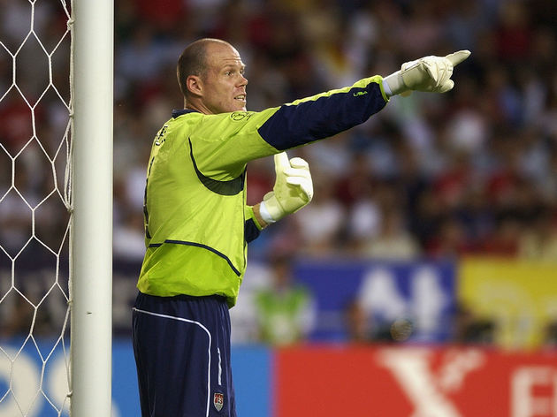 Brad Friedel of the USA