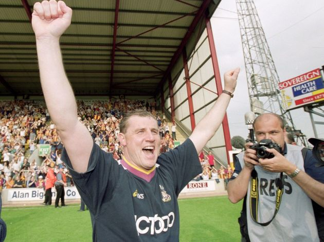 Bradford City manager Paul Jewell