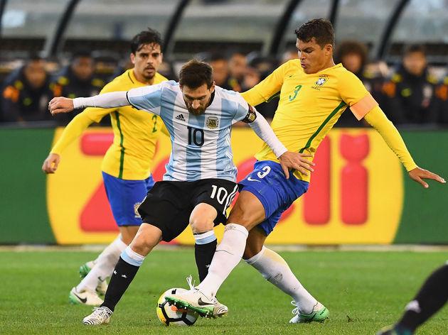 Lionel Messi,Thiago Silva