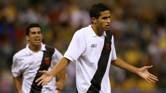 Brazilian Vasco da Gama players Wagner D