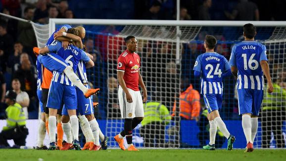Brighton and Hove Albion v Manchester United - Premier League