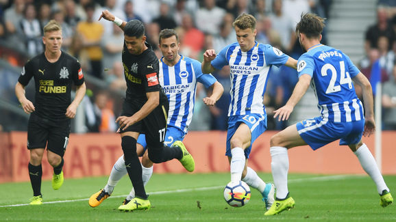 Ayoze Perez,Solly March,Davy Propper
