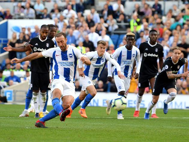 Brighton & Hove Albion v Fulham FC - Premier League