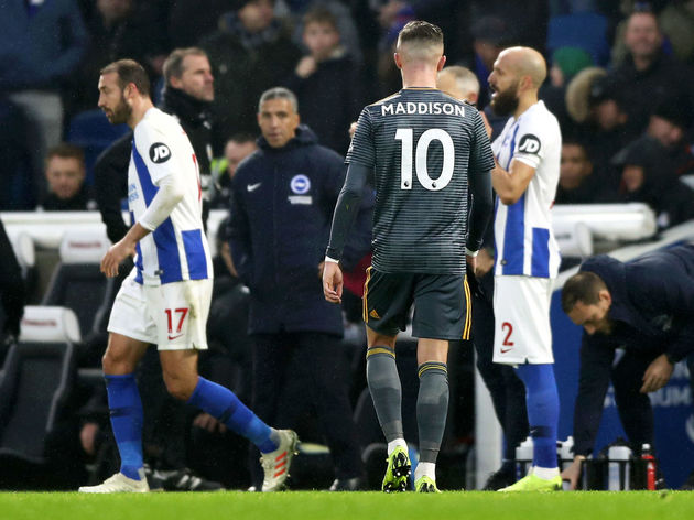 Brighton & Hove Albion v Leicester City - Premier League
