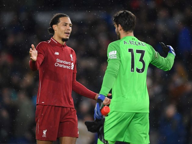 Virgil van Dijk,Alisson Becker